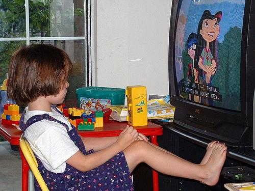 How kids watch TV
